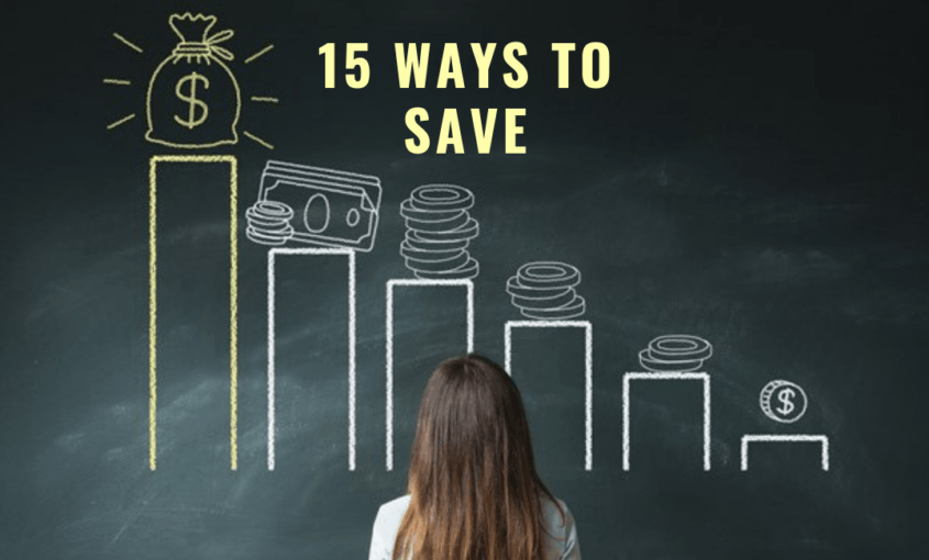 15 Ways To Save